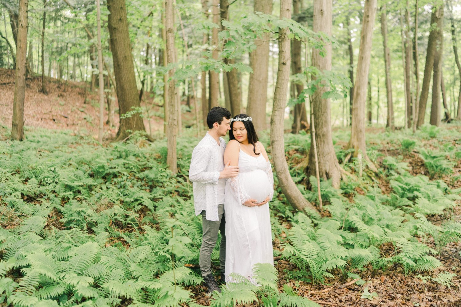 Abigail + Brendan's Maternity Session